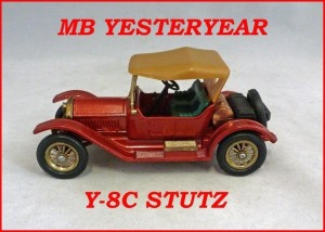 Matchbox Models of Yesteryear Y-8c 1914 Stutz