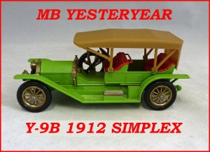 Matchbox Models Of Yesteryear Y-9B 1912 Simplex