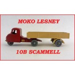 Moko Lesney Matchbox MB10 Scammell Mechanical Horse 10b