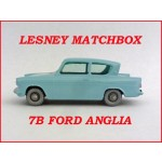 Lesney Matchbox Ford Anglia 7b