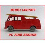 Moko Lesney Matchbox Toys MB9 Merryweather Fire Engine 9c