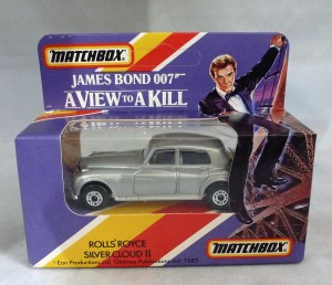 "Matchbox James Bond 007 Rolls Royce ""A View to A Kill"""