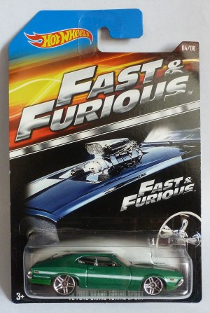 HotWheels Fast & Furious '72 Ford Grand Torino Sport 04/08
