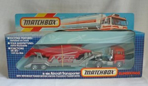 Matchbox SuperKings K-106 Scammell Aircraft Transporter