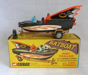 Corgi Toys 107 Batboat First Issue