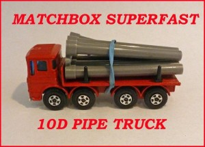 Matchbox Superfast MB10 Leyland Pipe Truck 10d