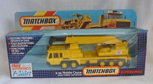 Matchbox Super Kings K-114 Mobile Crane