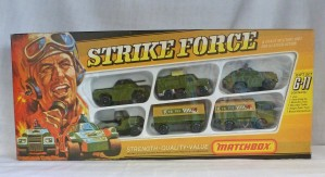 Matchbox Superfast G-11 Strike Force Gift Set
