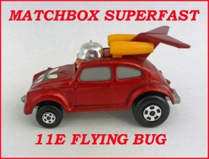 Matchbox Superfast MB11 VW Flying Bug 11e