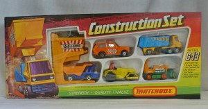 Matchbox Superfast G-13 Construction Gift Set