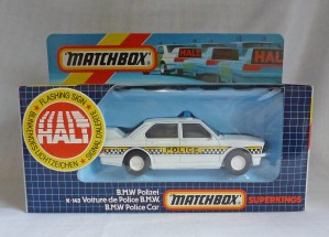 Matchbox SuperKings K-142 BMW Police Car