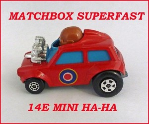 Matchbox Superfast MB14 Mini Ha