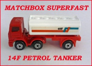 Matchbox Superfast MB14 Leyland Tanker 14f