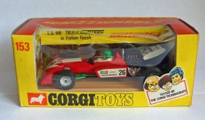 Corgi Toys 153 Team Surtees Racing Car [Green Helmet]