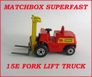 Matchbox Superfast MB15e Fork Lift Truck