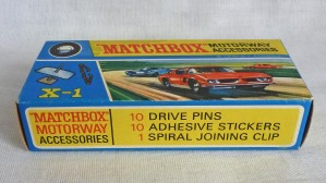 Matchbox Motorway X-1 Accessory Set with 10 Pins/Stickers