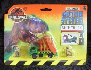 "Matchbox ""The Lost World"" Jurassic Park Skip Truck 1/6"