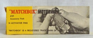 Matchbox Motorway 6101 Accessory Set with 10 Pins/Stickers