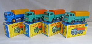 Matchbox Picture Box Collection Preview MB1e RW Mercedes Truck