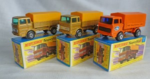 Matchbox Picture Box Collection Preview MB1e SF Mercedes Truck