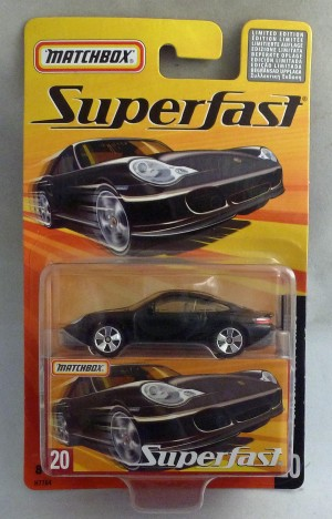 Matchbox Superfast MB20 Porsche 911 Turbo Black