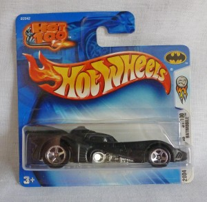 HotWheels Batman's  Batmobile 2004 First Editions Black