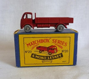 Moko Lesney Matchbox MB20a ERF Stake Truck with GPW