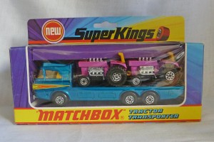 Matchbox SuperKings K-21 Tractor Transporter [5 Crown Wheels]