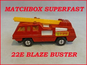 Matchbox Superfast MB22e Blaze Buster