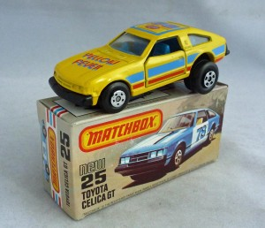 Matchbox Superfast MB25 Toyota Celica GT Yellow