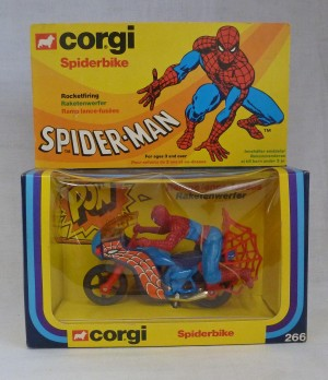Corgi Toys 266 Spiderman Spiderbike
