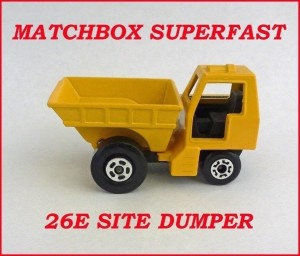 Matchbox Superfast MB26 Site Dumper 26e