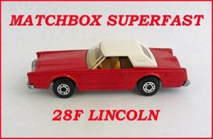 Matchbox Superfast MB28 Lincoln Continental 28f