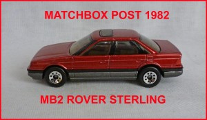 Matchbox MB2 Rover Sterling