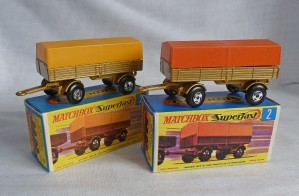 Matchbox Picture Box Collection Preview MB2d SF Mercedes Trailers
