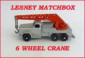 Matchbox Toys MB30 6 Wheel Crane Truck 30b