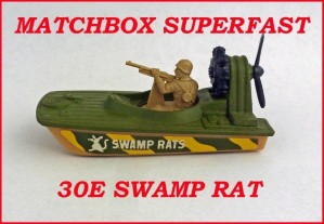 Matchbox Superfast MB30 Swamp Rat 30e