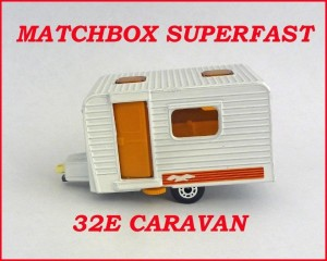 Matchbox Superfast MB31 Caravan 31e