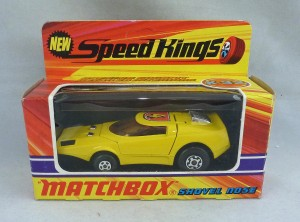 Matchbox Speed Kings K-32 Shovel Nose with 4 Label
