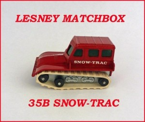 Matchbox Toys MB35 Snow