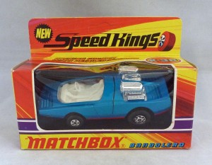 Matchbox Speed Kings K-36 Bandolero with Clear Windows