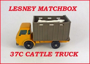 Matchbox Toys MB37 Dodge Cattle Truck 37c