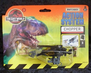 "Matchbox ""The Lost World"" Jurassic Park Helicopter Chopper 3/6"