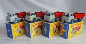 Matchbox Picture Box Collection Preview MB3b Bedford Tipper Truck