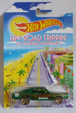 HotWheels HW Road Trippin' '69 Dodge Charger 4/21