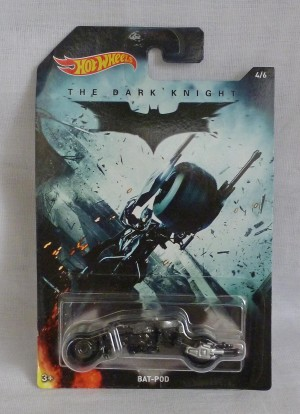 HotWheels Batman The Dark Knight Bat-Pod 4/6