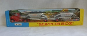 Matchbox King Size K-4 Fruehauf Hopper Road Train