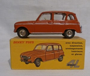 French Dinky Toys 518 Renault 4L