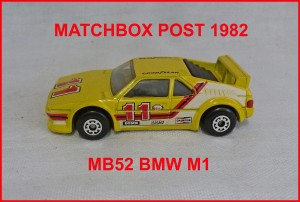 Matchbox MB52 BMW M1