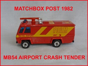 Matchbox MB54 Airport Foam Monitor